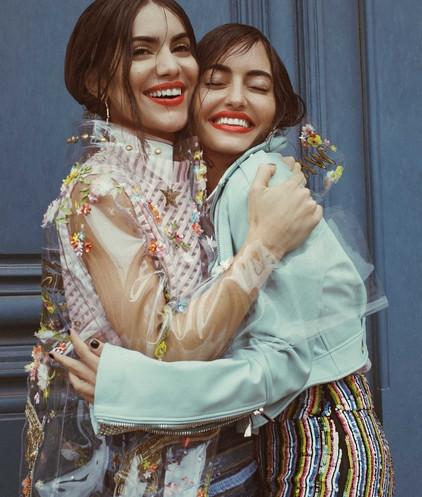 Power-Duo Camila Coehlo and Karen Wazen wear MARAM S/S18 For Harper's Bazaar Arabia