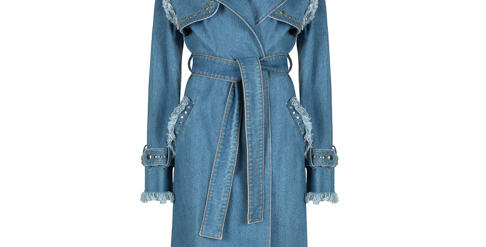 The Bonnie & Clyde Denim Trench