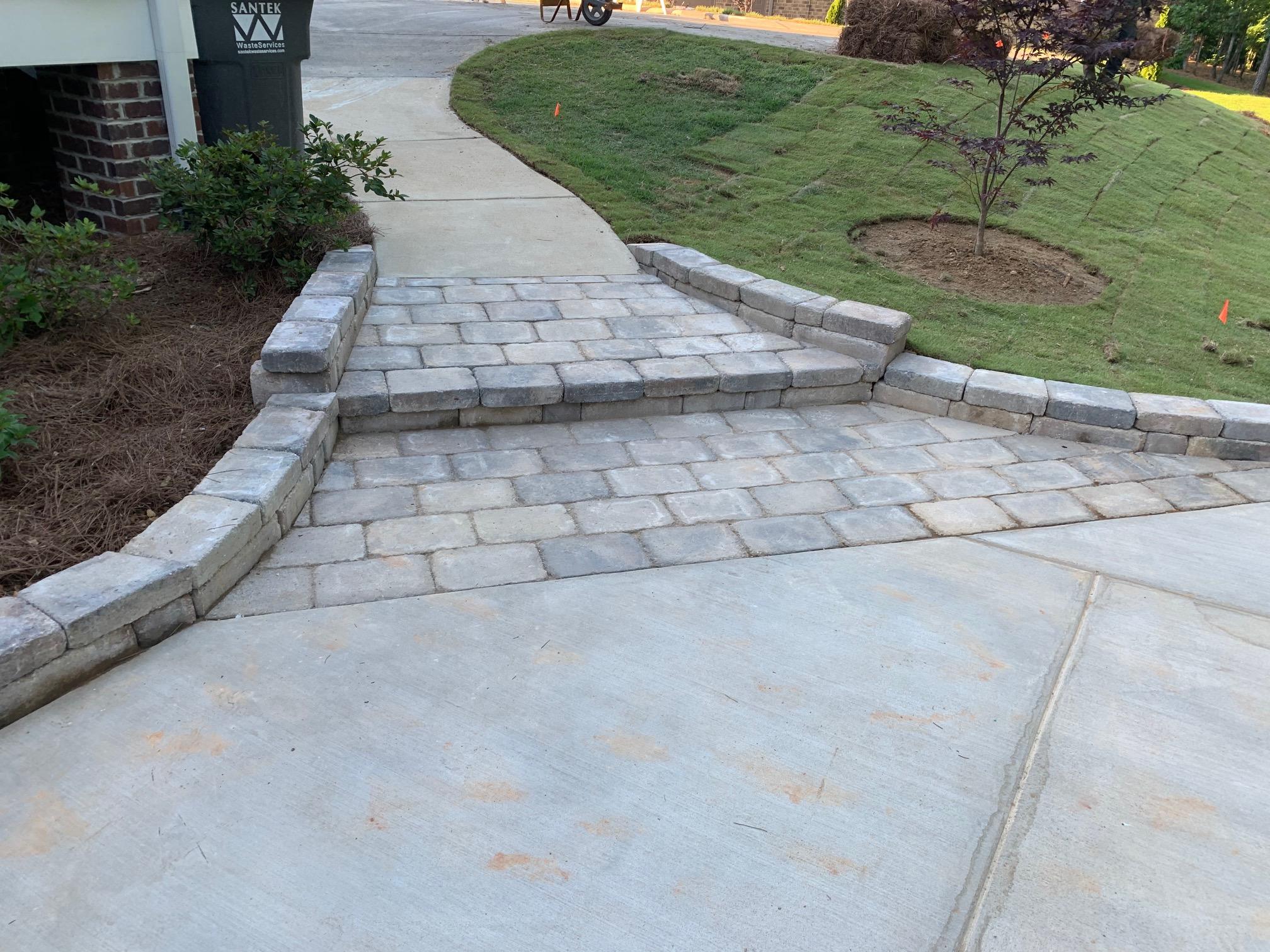 Landscape Steps