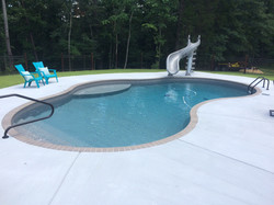 Mountain Pond with Sundeck