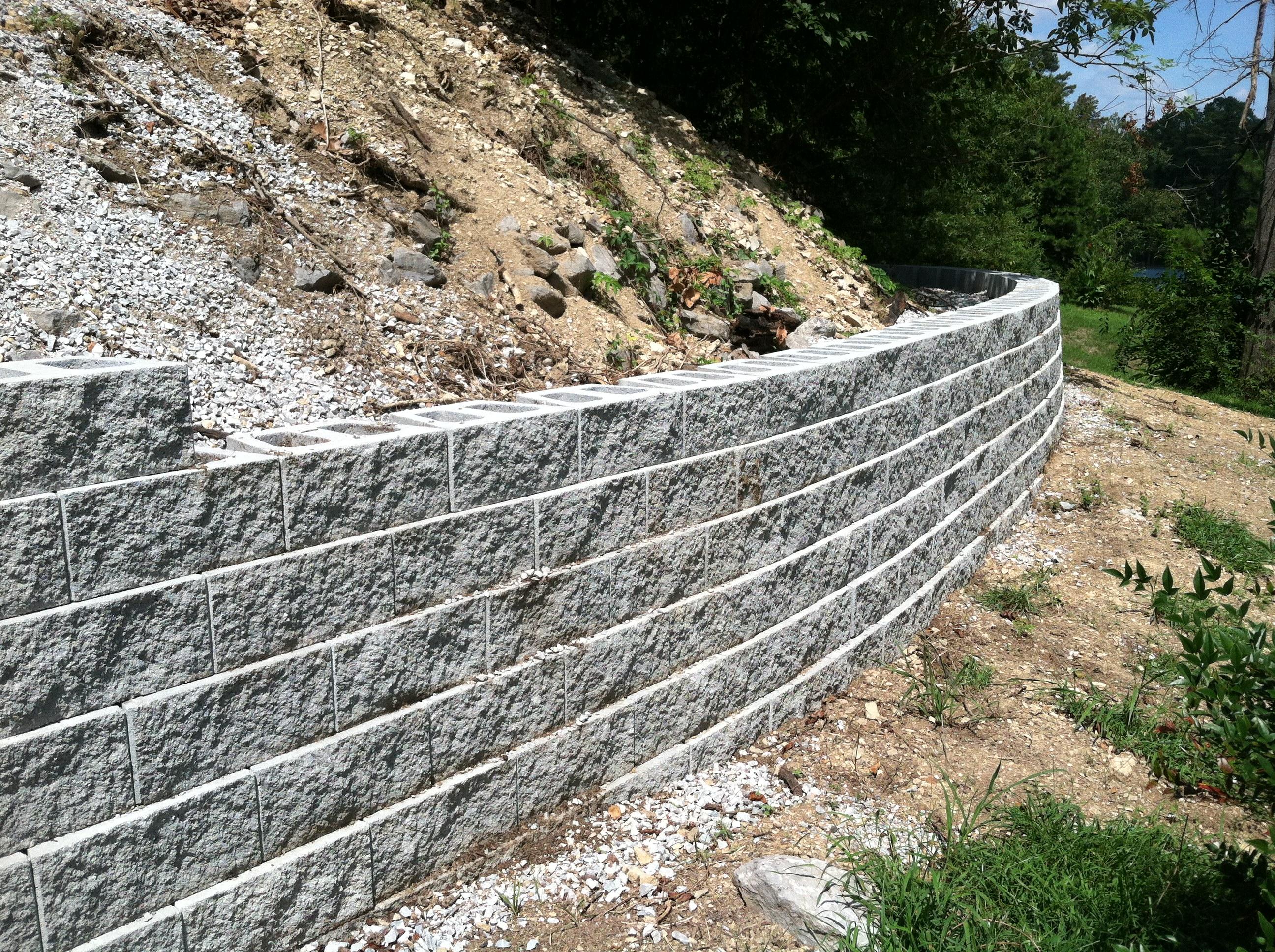 Retaining Wall Grey 2