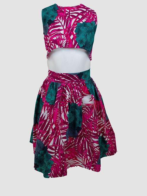 Fuchsia Tropical Set