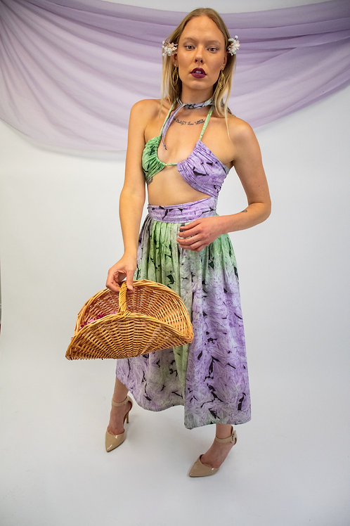TieDye Skirt Set