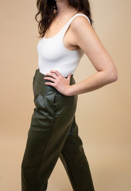 Urban Outfitters Maya Faux Leather Trouser