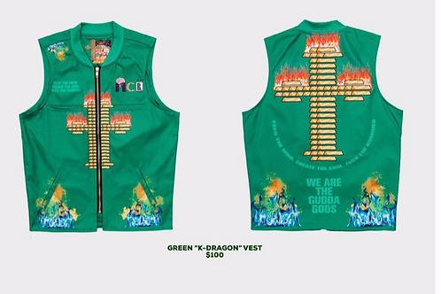 Green K-Dragon vest