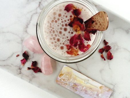 A Welcome Back! Plus - Make a soothing Rose Latte