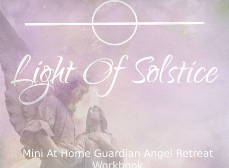 Mini At Home Guardian Angel Retreat experience - Plus access your FREE workbook!