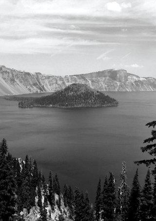 Crater Lake Black and White.jpg