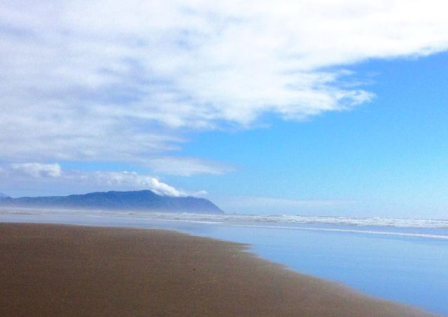 Beach, Sky and Sea