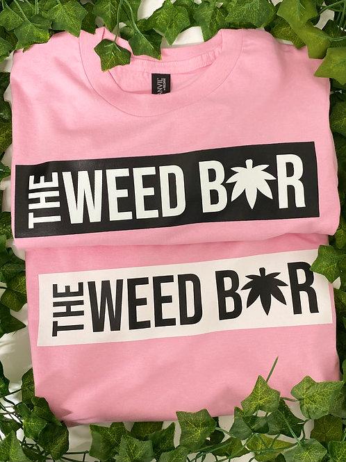 Pink Black Weed Bar Tshirt