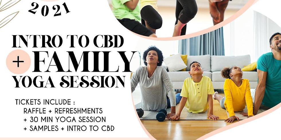 CBD + FAMILY YOGA