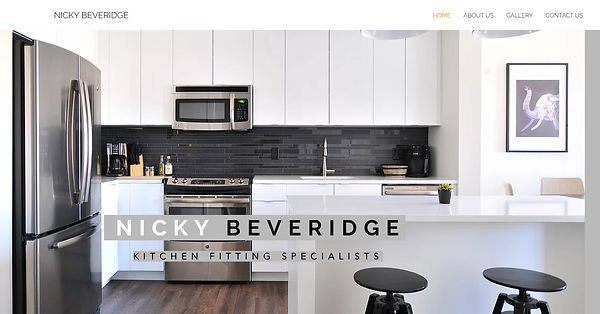 Affordable, low cost kitchen fitter website