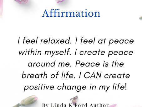 Tranquility & Change - AFFIRMATION