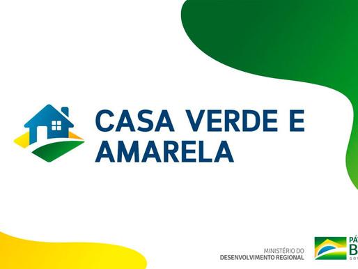 Casa Verde e Amarela: O que você precisa saber sobre o programa.