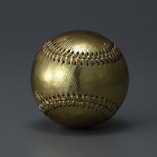 野球ボール 金 ゴールド 刺繍 記念
