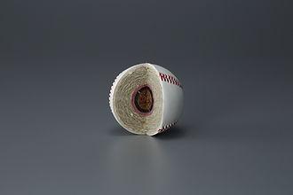 硬式野球ボール 分解
