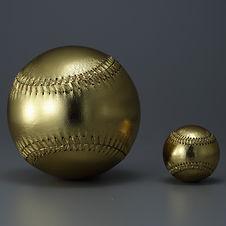硬式野球ボール 金 ジャンボ 大きい