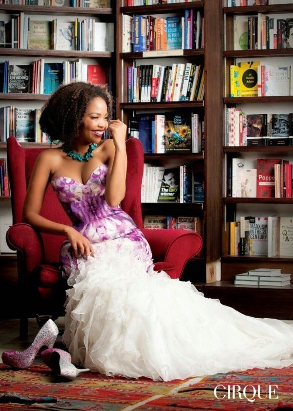Actress Terry Pheto in REFLECTIONS