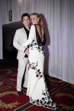 Actress Vanessa Haywood & husband Ryan Sandes