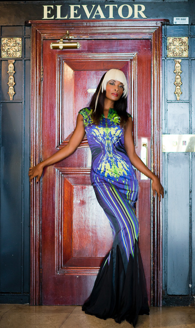Actress Bonnie Mbuli in REFLECTIONS
