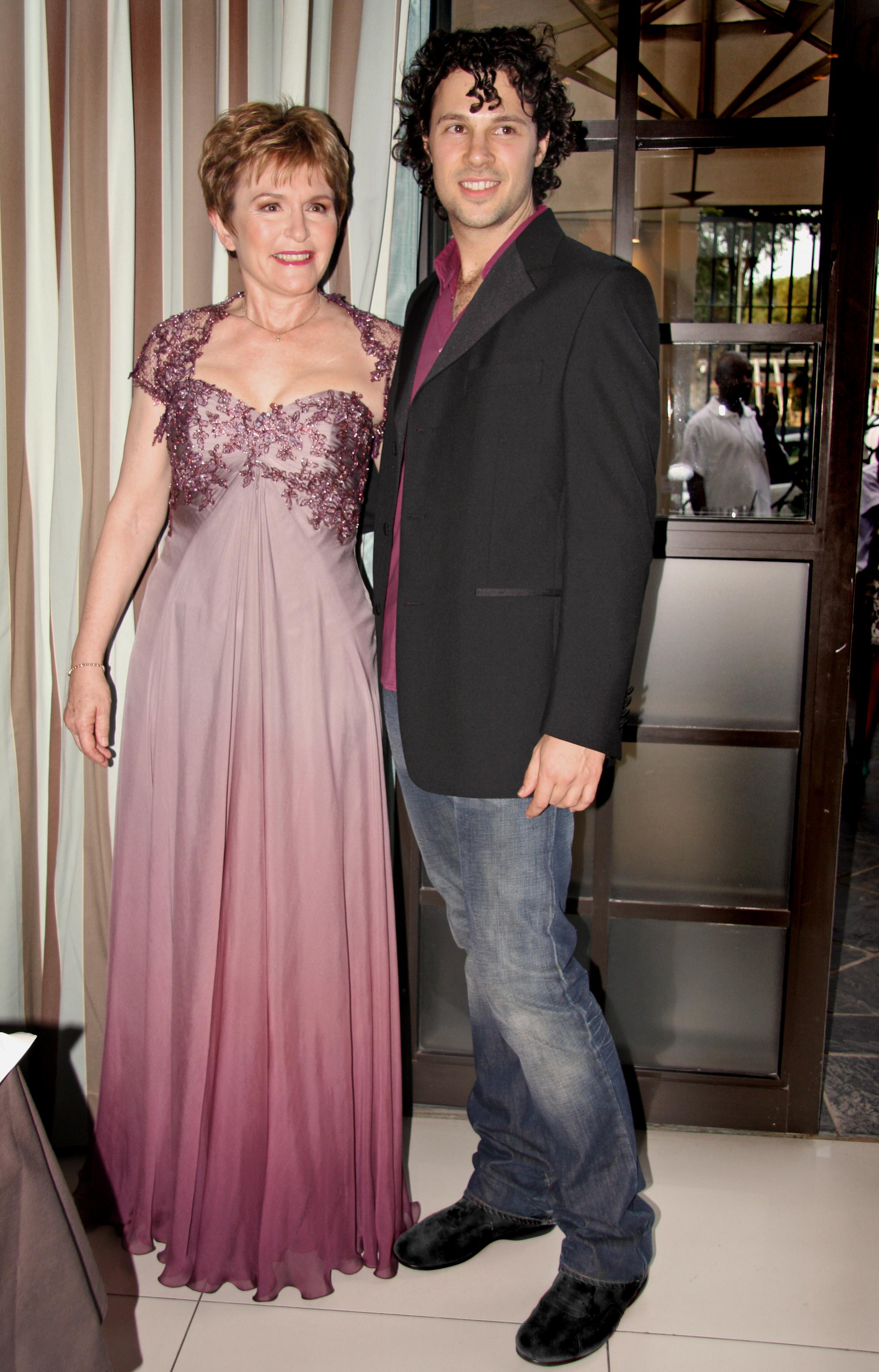 Premier Helen Zille with Hendrik Vermeulen