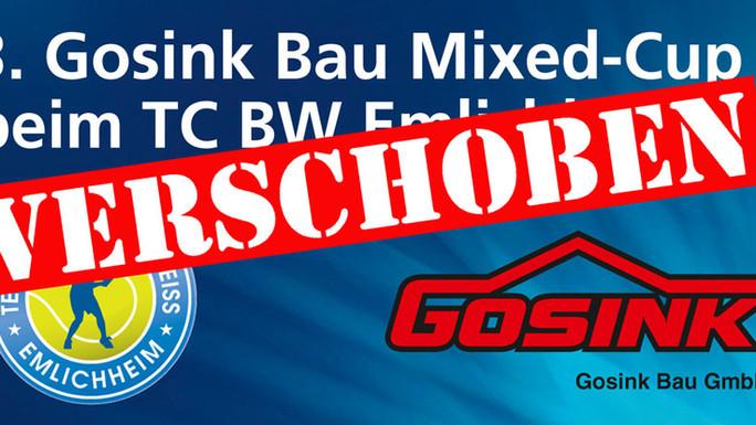 Gosink-Mixed-Cup vom 20. – 22. März 2020 wird abgesagt wegen aktueller Gefährdungslage durch den Cor