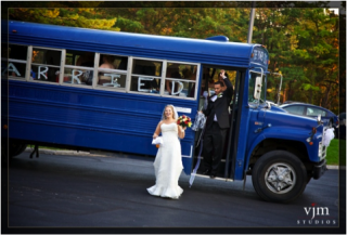 Penn State's Football buses for your wedding!