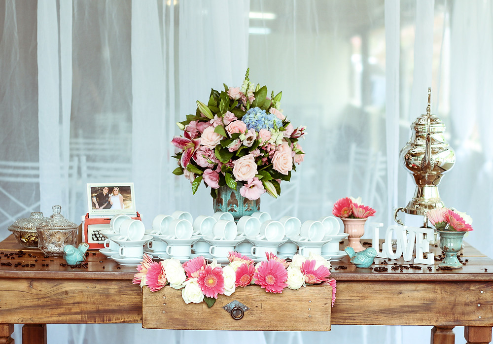 Use recycled and repurposed items for your wedding decor