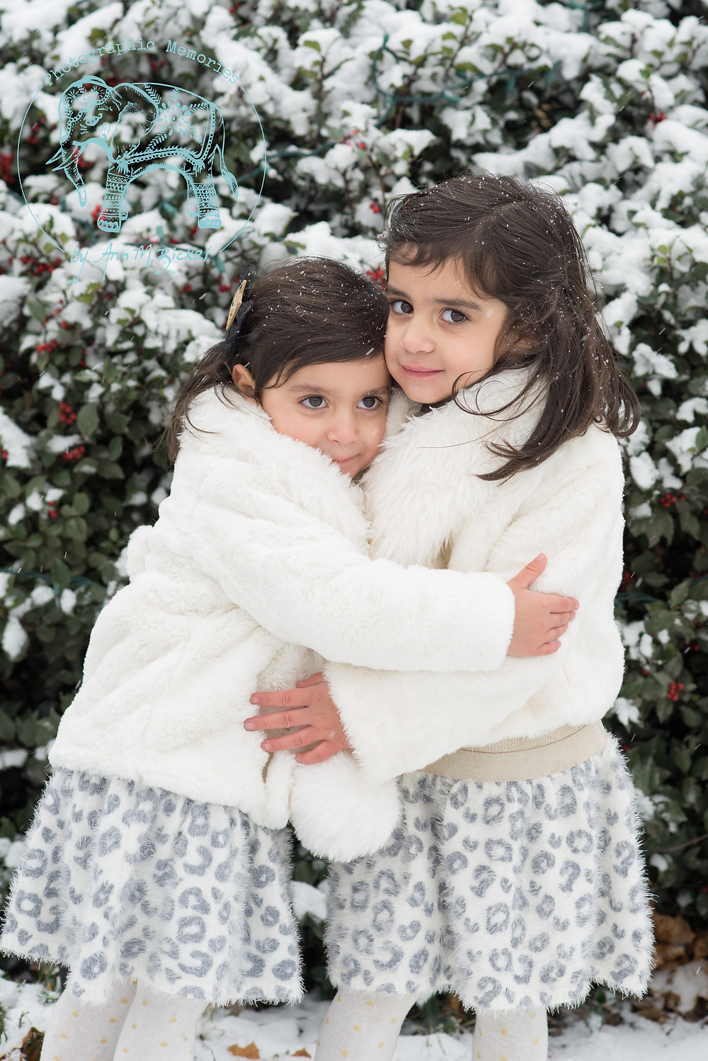 Flower Girls in Winter Wraps - Image Courtesy of Photographic Memories