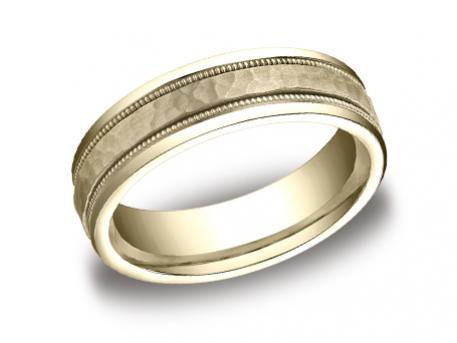 Gold Wedding Band from Confer's Jewelers