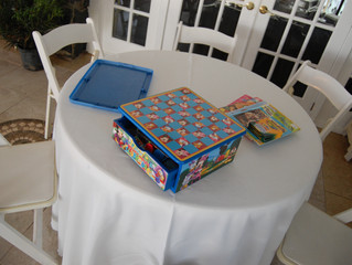 Wedding Tip of the Week: Have a 'Kid's Table' with fun activities to keep kids occupied