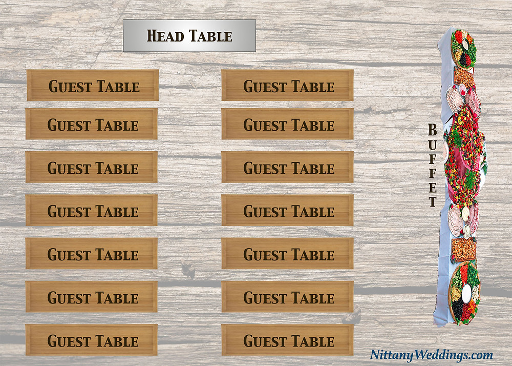 Ideal Seating Layout For A Buffet