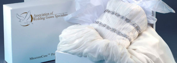 Wedding Gown Preservation by Balfurd Cleaners