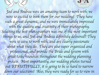 Bride Love for J&A Photography
