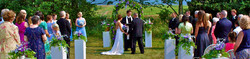 Wedding Ceremony at Earlystown Manor
