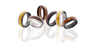 Exotic Hardwood Rings