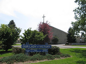 Our Lady of Victory Catholic Church, State College area, PA