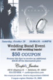 Confers Wedding Band Event October 2018.