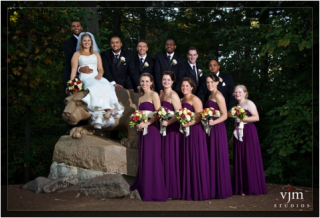 Penn State Wedding at the Lion Shrine