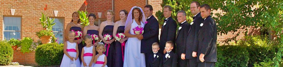 Wedding Party at Earlystown Manor