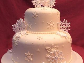 12 Days of Winter Wedding Ideas - Day 8: Cakes