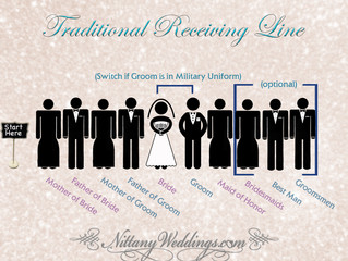 Wedding Tip of the Week: Receiving Line Advice