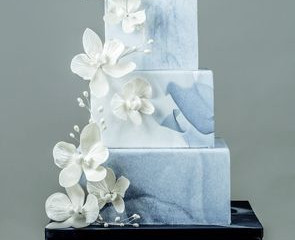 Wedding Trend Tuesday: Marble Wedding Cakes