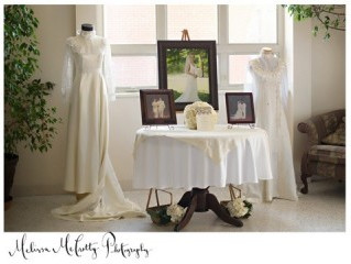 New Trend: Decorate Your Venue With Vintage Wedding Gowns