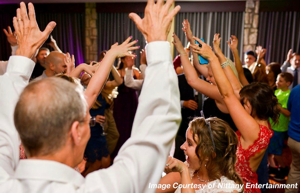 Group Wedding Dance; Image Courtesy of Nittany Entertainment