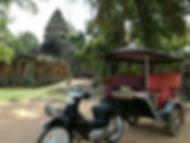 Tuk Tuk temples d'Angkor