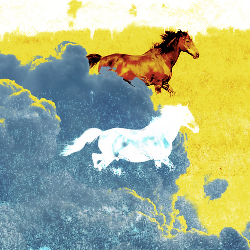 Yellow Wolf's War Pony