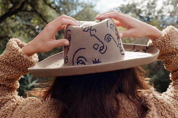 West World Cowgirl Hat