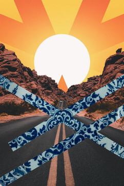 desert + road