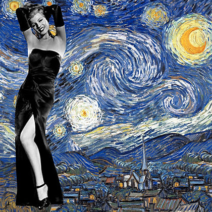 Let's Gogh to the Moon